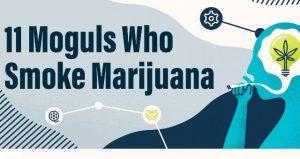 Moguls who smoke marijuana