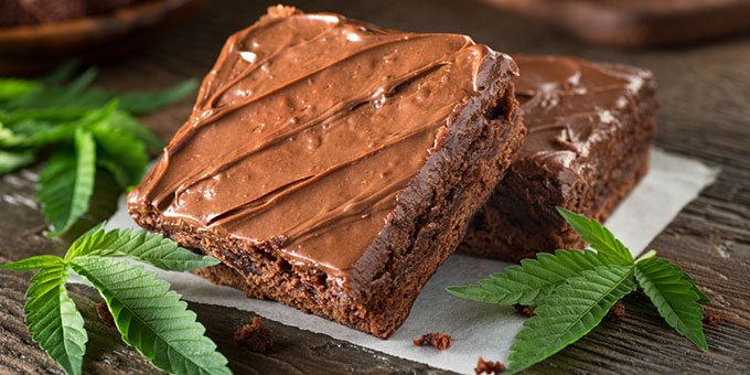 Weed edibles pot brownie recipe