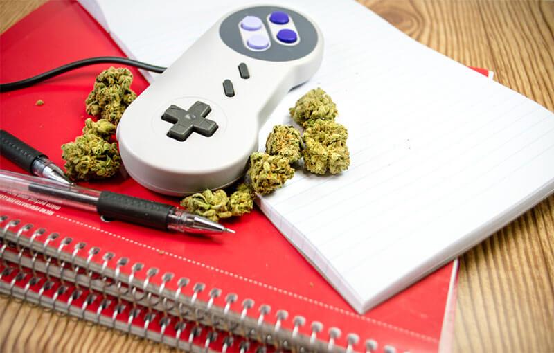 weed video games