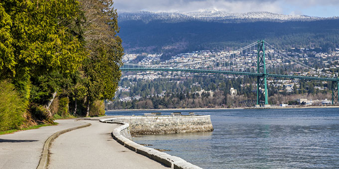 Vancouver Seawall Scenery