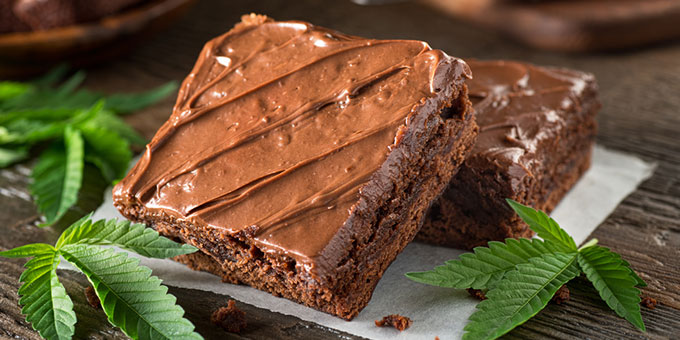 Edible Marijuana Brownies