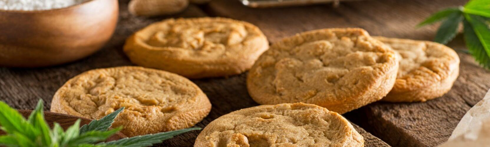Cannabis peanut butter cookies