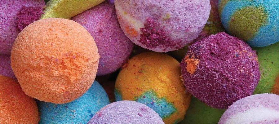 CBD bath bombs benefits