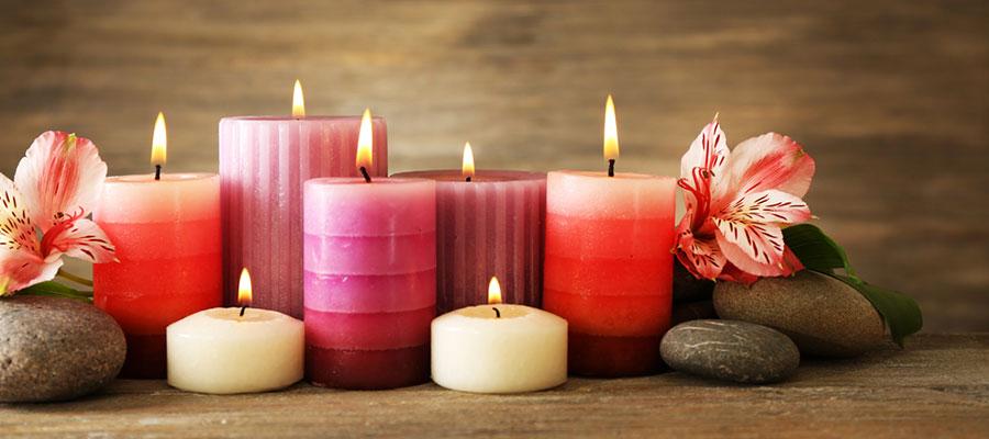 Premium CBD candles