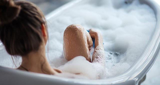 Relaxing CBD Bath Bombs