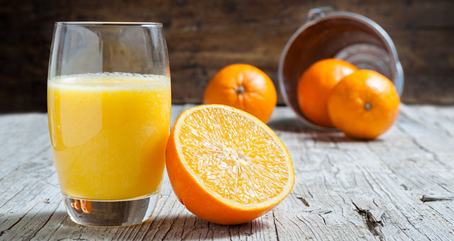 CBD orange juice